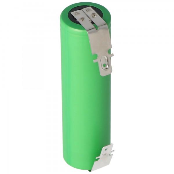 Akku passend für den Bosch Ciso Akku 3.6 bis 3,7 Volt Kapazität min. 2200mAh mit 4,8mm Steckkontakten