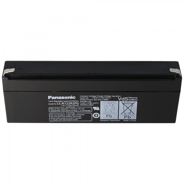 Panasonic LC-R122R2PD Akku LC-R122R2PG Akku 12 Volt 2,2Ah