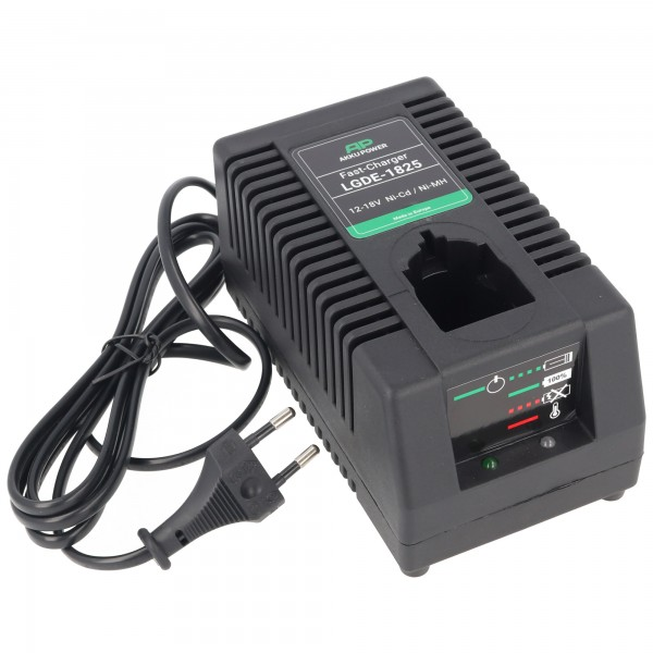 Akku Power LGDE-1825 Universal-Ladegerät für 12-18V Akkus