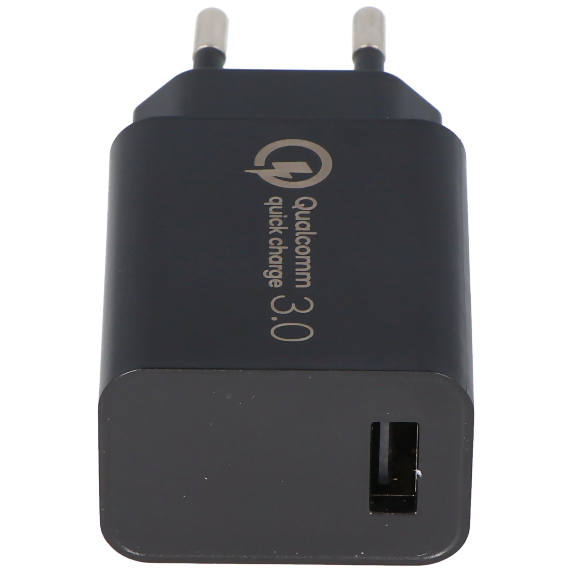 Ultra schnelles laden, USB Netzteil QC3.0 5V 3A, 9V 2A und
