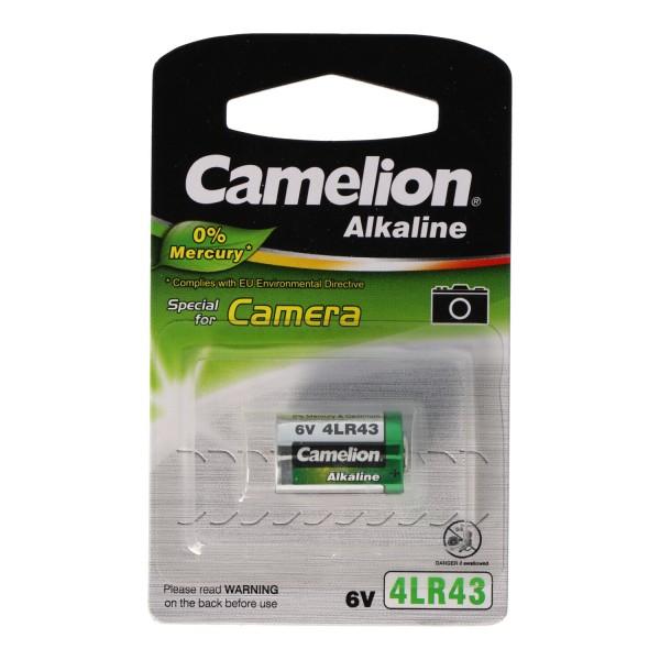 PX27 Alkaline Photo Batterie, 4AG12, 4LR43, 4NR43, EPX27 6Volt 12,7 x 20,5mm
