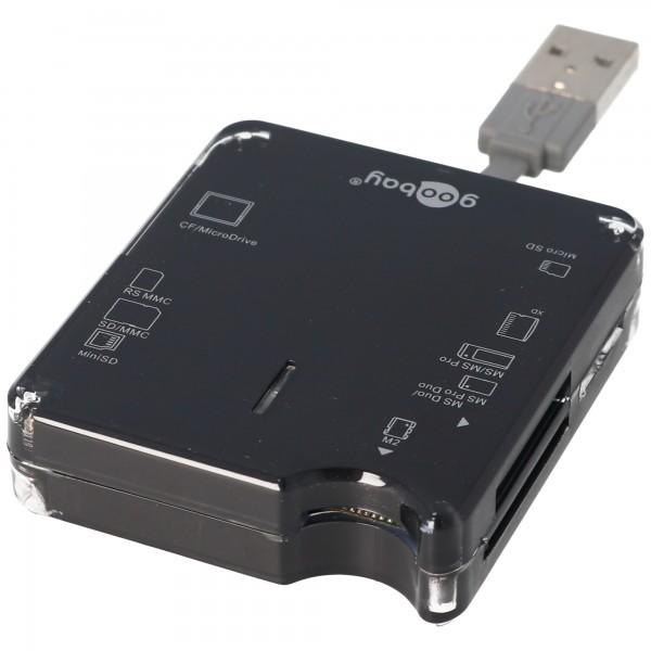 USB Kartenlesegerät All-in-one für SD, SDHC, MiniSD, MMC, CF, XD Cardreader