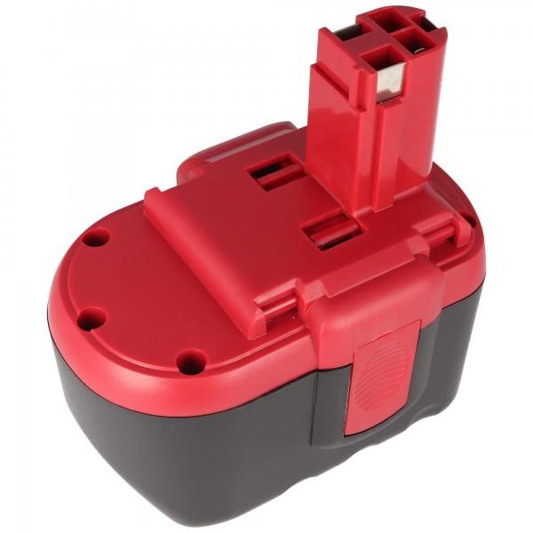 Akku passend für Bosch GSR 24VE-2, GBH 24V, 2607335448, 3,0Ah
