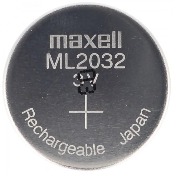 ML2032 Li-Ion Akku 3V Akku ML 2032 3,2 x 20 mm