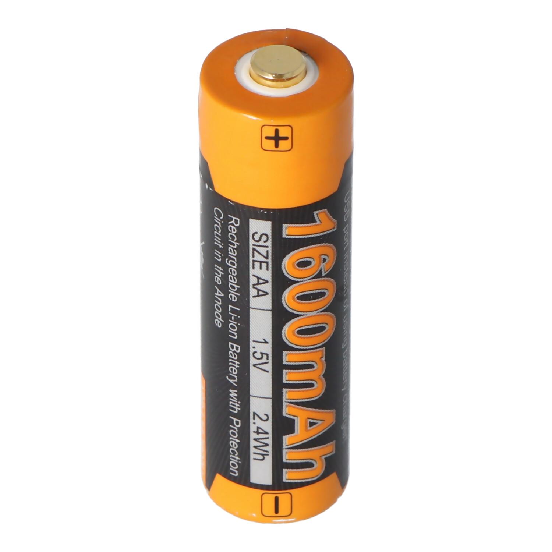 Li Ion Akku Mignon AA LR6 1600mAh mit 1,5 Volt mehrfach