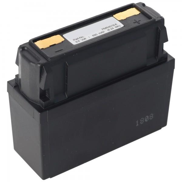 AccuCell Akku passend für Bosch HFG 164, 8697322401 625 9,6V 650mAh