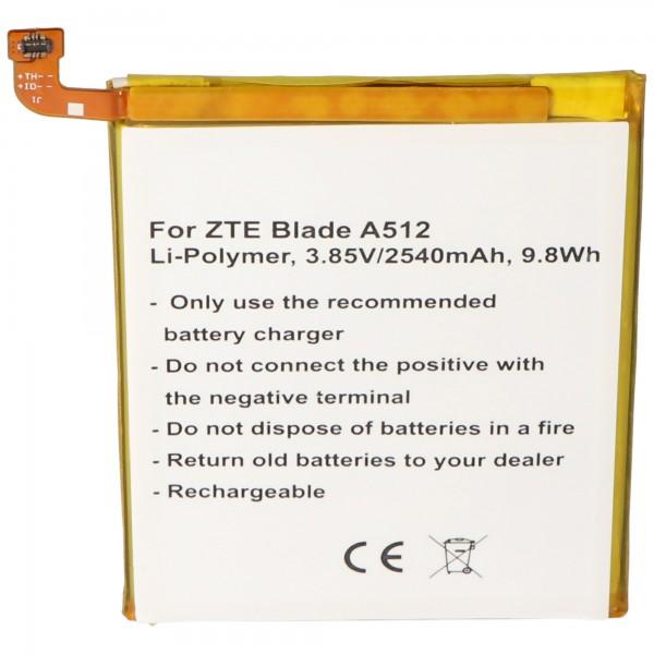 Akku passend für den ZTE BA910 Akku Blade A910, Blade A910 Dual, Blade A910 Dual SIM Akku Li3925T44P8h786035