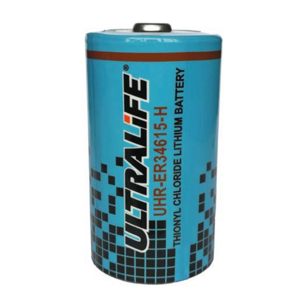 UHR-ER34615-H Ultralife Lithium Batterie 3,6Volt 14,5Ah D Zelle Hochstrom -55°C bis +85°C