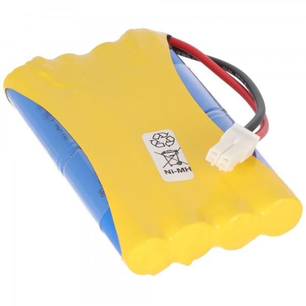 Akku passend für Somfy 2400720, Akku für Somfy Tormotoren und Garagenantriebe, Akku kompatibel zu Freevia, GDK, SGA und SGS Motoren