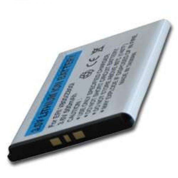 AccuCell Akku passend für Sony Ericsson W880i, 500mAh