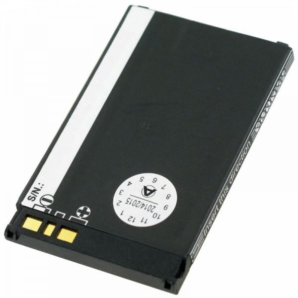 AccuCell Akku passend für Sharp GX15, GX25, GX30, GX30i, 780mAh
