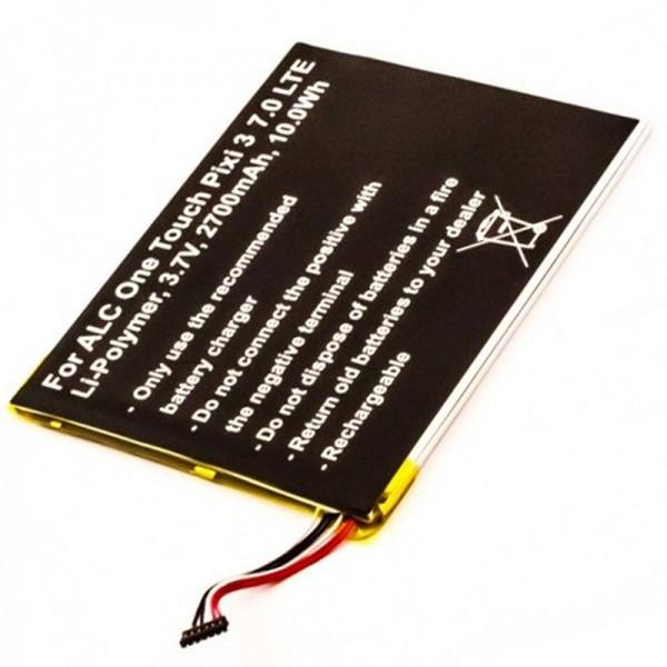 Akku passend für Alcatel One Touch Pixi 3 7.0 LTE Akku TLP028A2, One Touch Pixi 3 7.0 4G