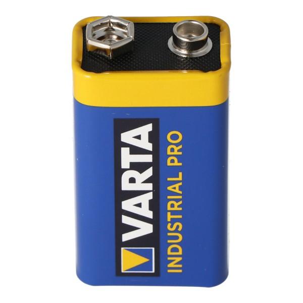 Varta 4022 Industrial 9-Volt Batterie 9 Volt 550mAh 6AM6