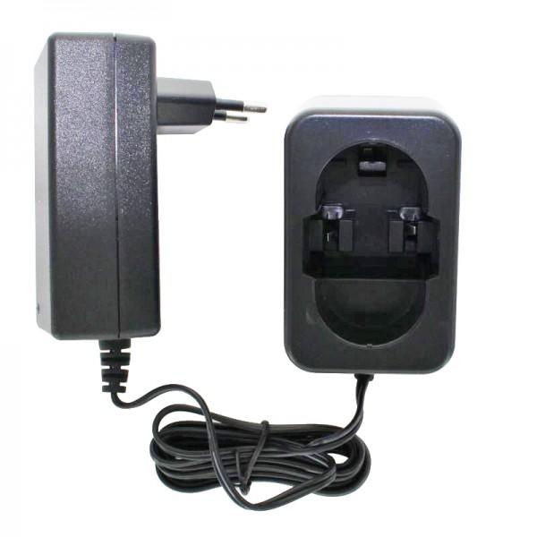 Ladegerät passend für Bosch Werkzeug-Akku 4,8 bis 18 Volt NiMH 2607335035