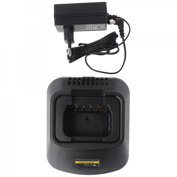 Schnell-Ladegerät passend für Akku Motorola GP300, HNN9628A
