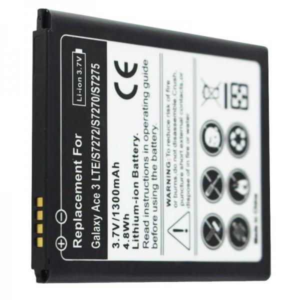 Samsung Galaxy ACE 3, 3G LTE GT-S7270 Akku als Nachbau Akku von AccuCell