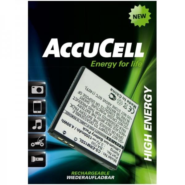 AccuCell Akku passend für den Xperia Neo Akku BA700