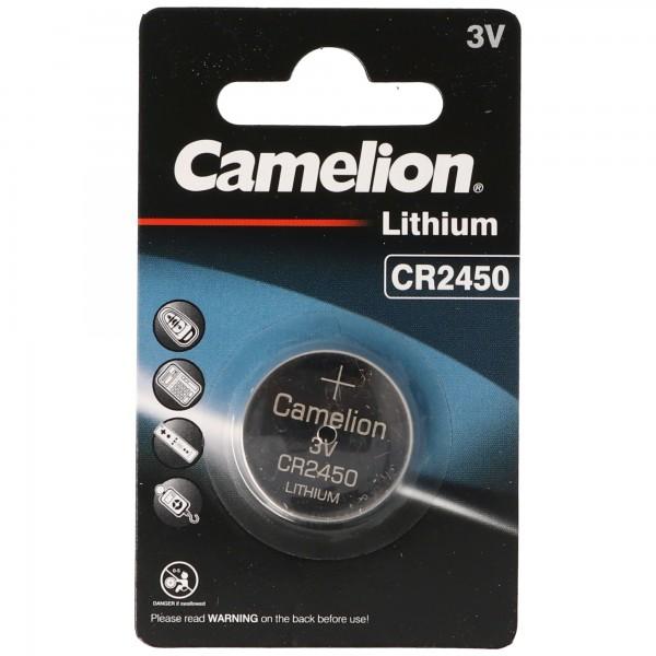 CR2450 Lithium Batterie IEC CR2450 Knopfzelle Lithium Batterie