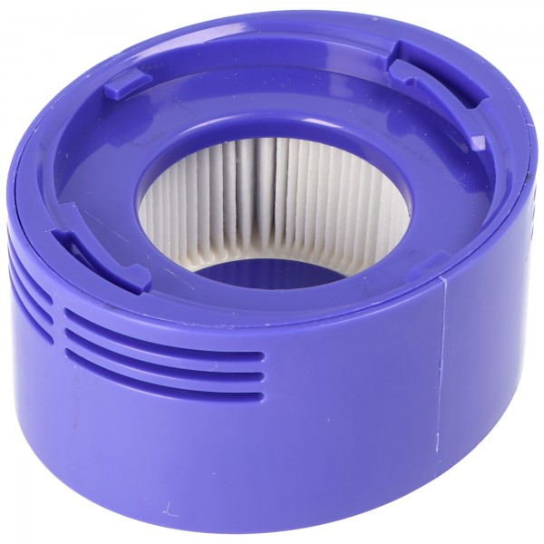 Staubsaugerfilter passend für Staubsauger Dyson SV10, SV11, V7, V8, 967478-01, HEPA Nachmotor Filter, Kunststoff / Mikrovlies