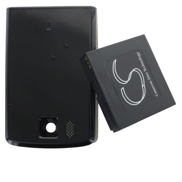 2700mAh Akku passend für HTC Touch HD, Blackstone, BLAC160, BA S340 nur mit Zusatzdeckel verwendbar