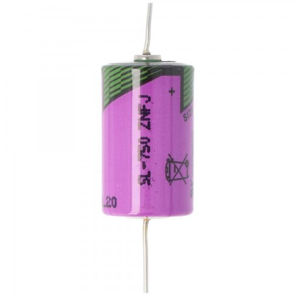 Sonnenschein Inorganic Lithium Battery SL-750/P Anschlußdrähte