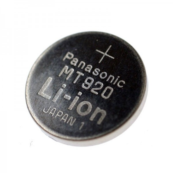 Panasonic MT920 Batterie, Kondensatorbatterie GC920 0.33F, bitte Abmessungen beachten 9,3 x 2,1mm, ohne Lötfahne