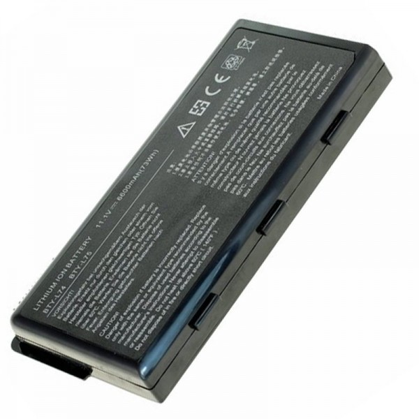 Akku passend für MSI 957-173XXP-101, -102, BTY-L74, BTY-L75, 6600mAh