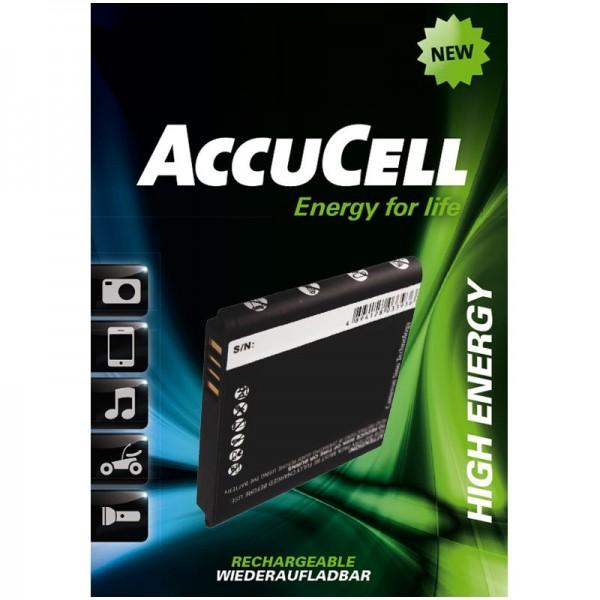 AccuCell Akku passend für HTC HD mini, HTC Photon, HTC T5555