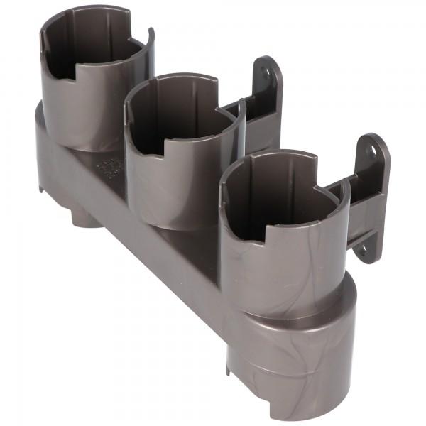 Wandhalterung passend für das Dyson Zubehör V10, V8, V7, der Zubehörhalter mit Schrauben und Dübel