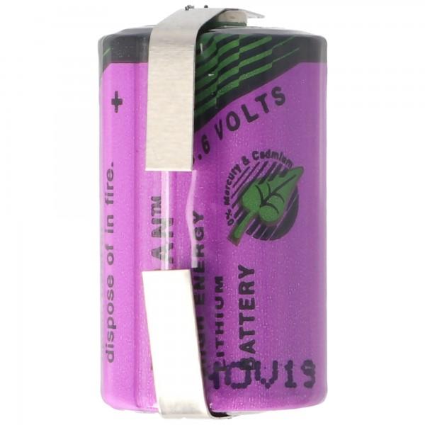 Sonnenschein Inorganic Lithium Battery SL-350/T mit Lötfahne U-Form