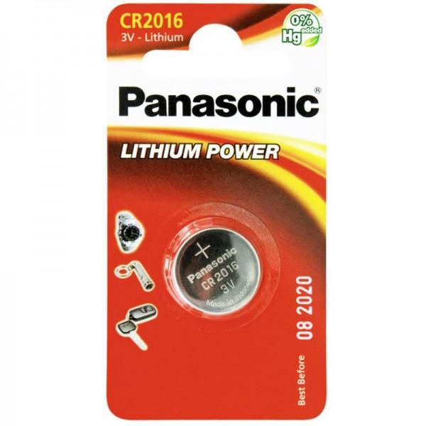 Panasonic CR2016 Lithium Batterie 1 Stück Panasonic IEC CR2016