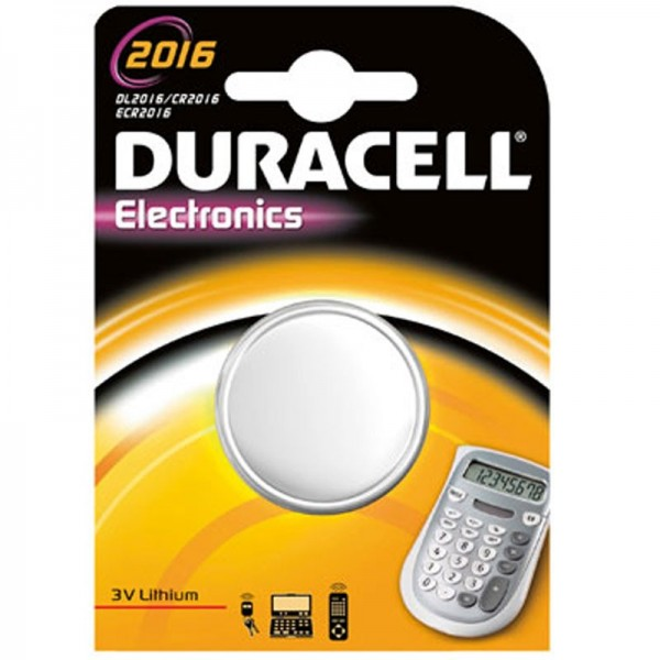Duracell CR2016 Lithium Batterie