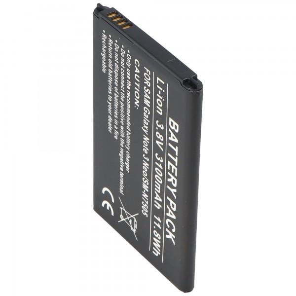 Samsung Galaxy Note 3 Neo Akku SM-N7505 als Nachbau Akku von AccuCell