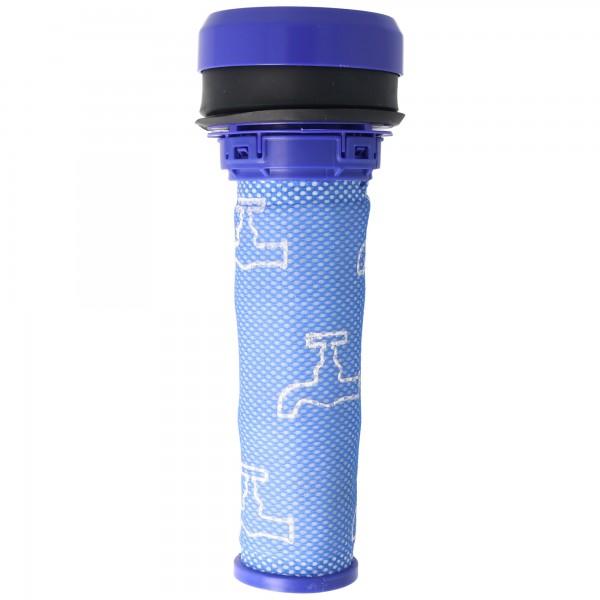 Staubsaugerfilter für Staubsauger wie Dyson 923413-01, 92341301 , Vormotor-Filter, Gummi / Kunststoff / Mikrovlies