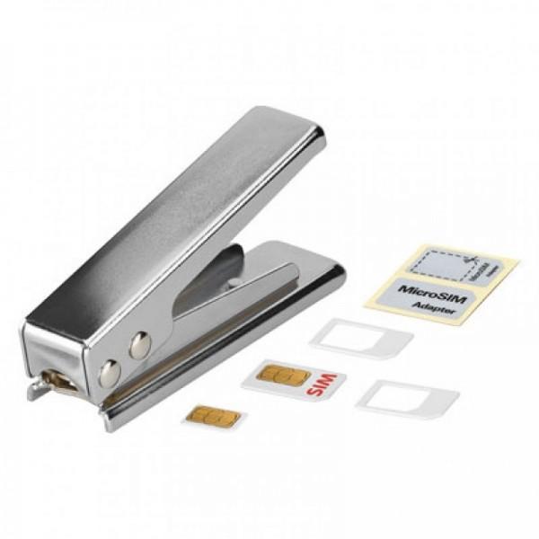 Stanzer für SIM-Karten auf Micro-SIM inkl. Adapter