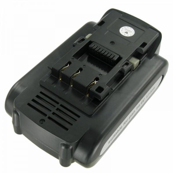 Akku passend für Panasonic EY9L40, EY9L41 14,4 Volt 2000mAh Li-Ion Akku