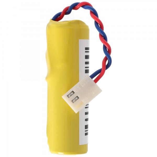 Batterie exakt passend für die Daitem BATLi04 Batterie FAS 2901/2