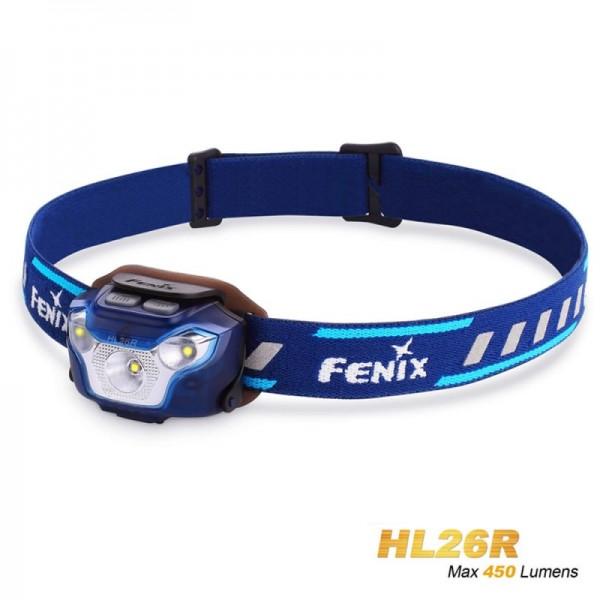 Fenix HL26R LED Stirnlampe blau mit Li-Polymer-Akku 1600mAh