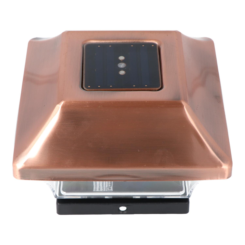 Zaunpfostenleuchte DuraCell Solar LED Leuchte für Zaunpfähle