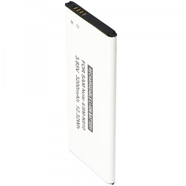 Akku passend für den Samsung Galaxy Note 4 Akku, 3200mAh