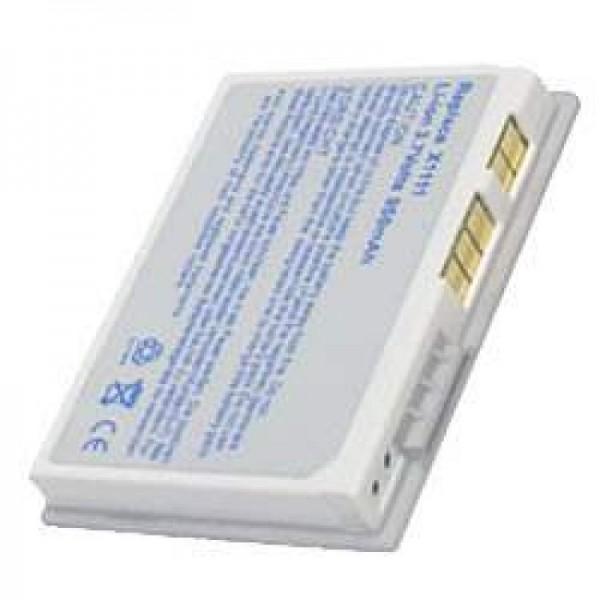 AccuCell Akku passend für Dell Axim X3, X3i, X30 Silber
