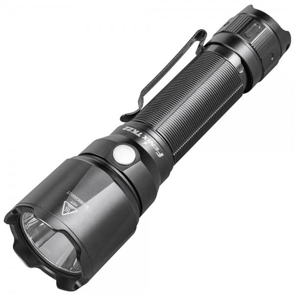 Fenix TK22 V2.0 LED-Taschenlampe mit bis zu 1600 Lumen und max. 405 Meter Reichweite, Lieferung ohne Akku