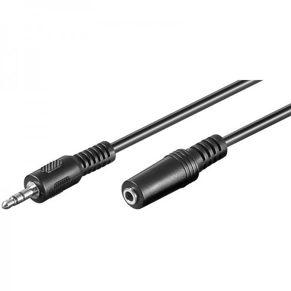 Audio-Video-Kabel 10,0 m 3,5mm Stecker auf 3,5mm Kupplung