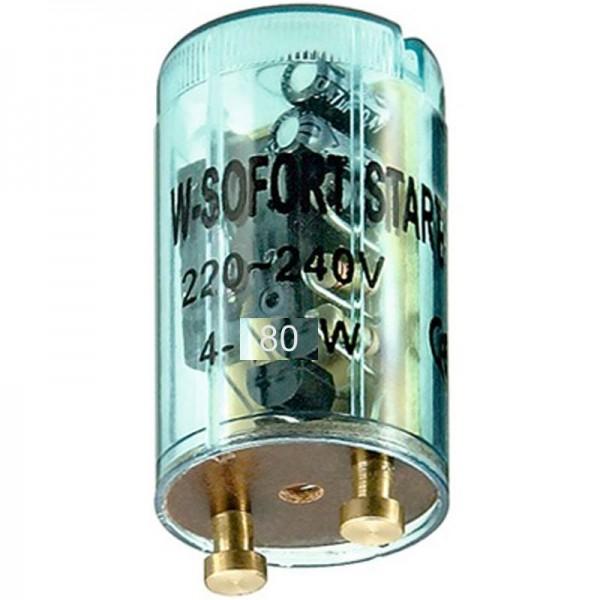 Starter für Leuchtstoffröhren 4 - 80 Watt