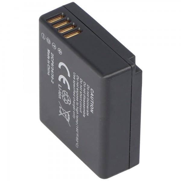 Akku passend für Panasonic DMW-BLE9, LUMIX DMC-GF3, DMC-S6 Serie 770mAh