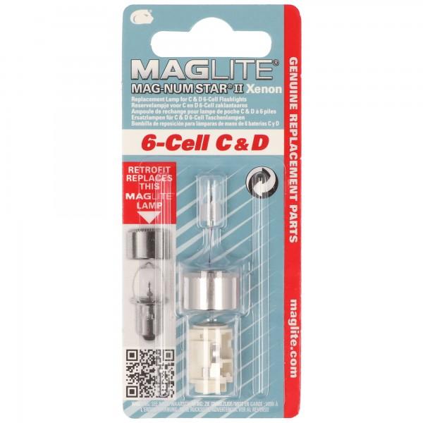 MAGLITE 6-Cell C & D Ersatzlampen MAG-LITE, LWSA601, LWSA601E, LMXA601