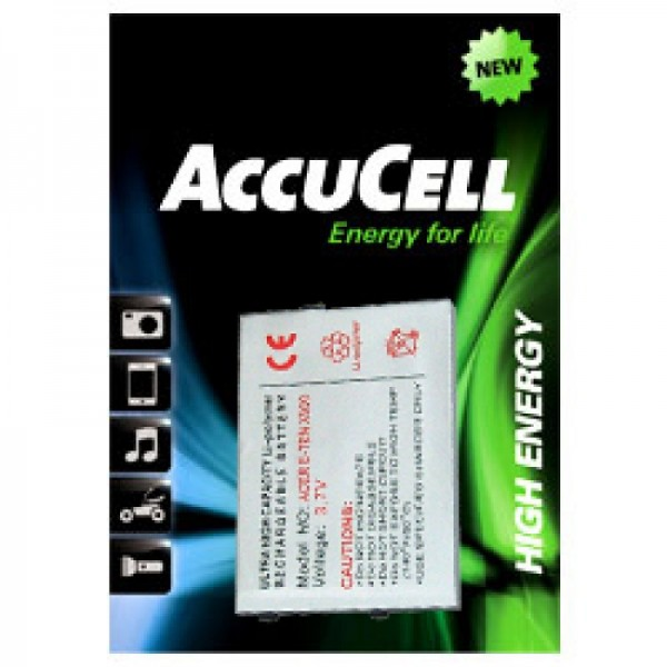 AccuCell Akku passend für E-TEN glofiish M700, X500 Akku
