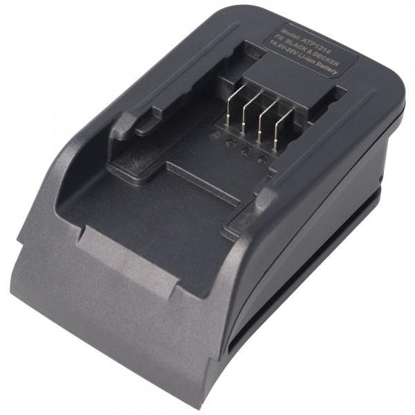 AccuCell Ladeadapter passend für den Akku 90553172, BL1114, BL1314, BL1514 nur verwendbar mit dem Basis-Ladegerät ACH-1130