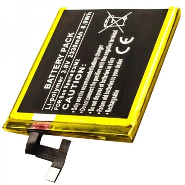 Akku passend für den Sony XPERIA E3, M2 Akku LIS1551ERPC
