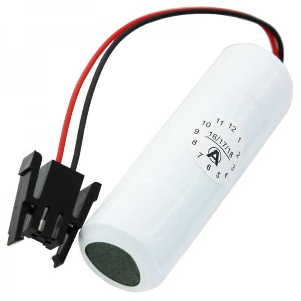 Ersatzbatterie passend für Yaskawa CR6L-CN014S, FUJI FDK CR6-L